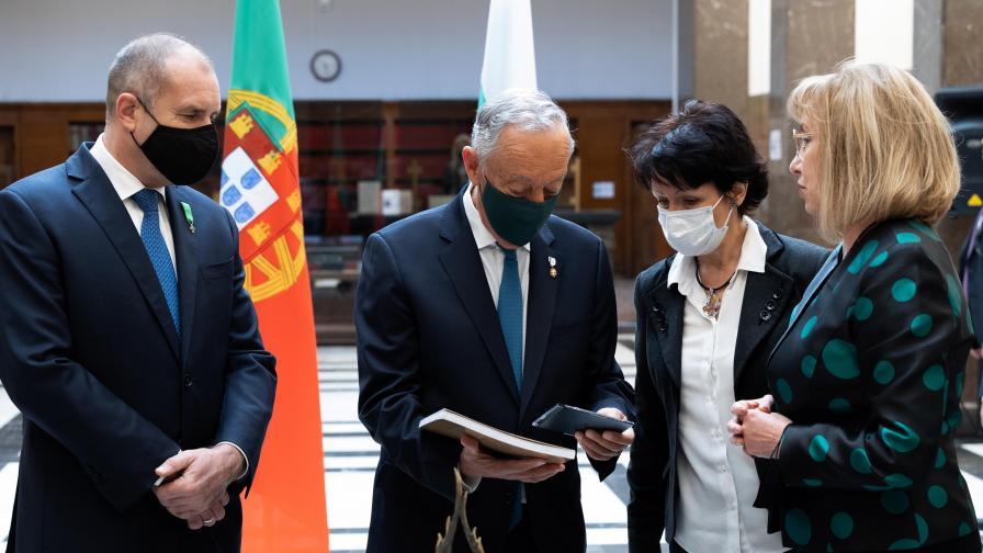 Радев: България и Португалия са единни в стремежа си да работят за по-добро бъдеще на Европа