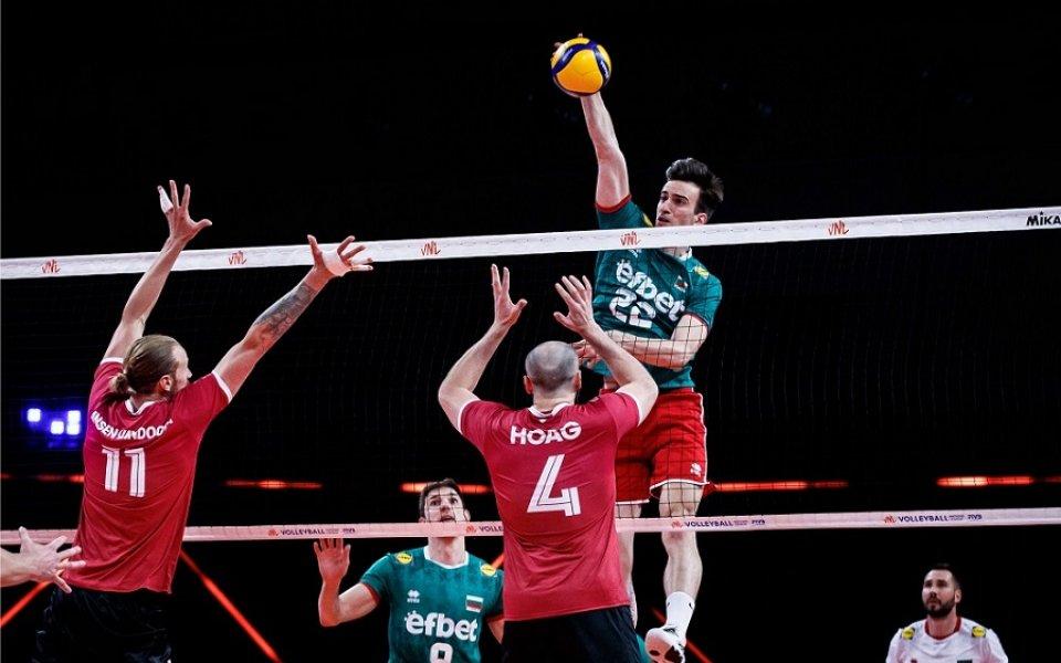 Националният отбор на България по волейбол допусна четвърто поражение в