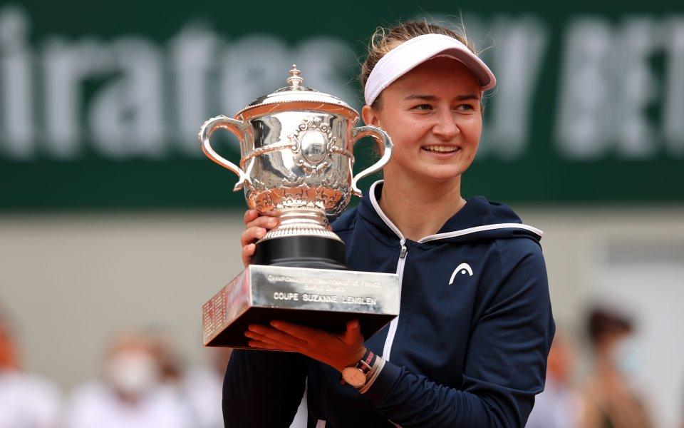 Крейчикова спечели първа титла от Големия шлем