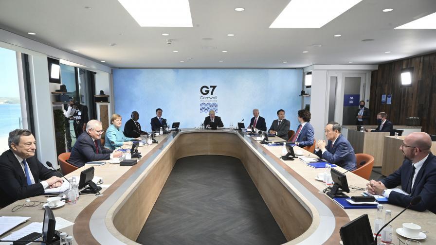 Г-7 ще отпуска по 100 млрд. годишно на бедните страни