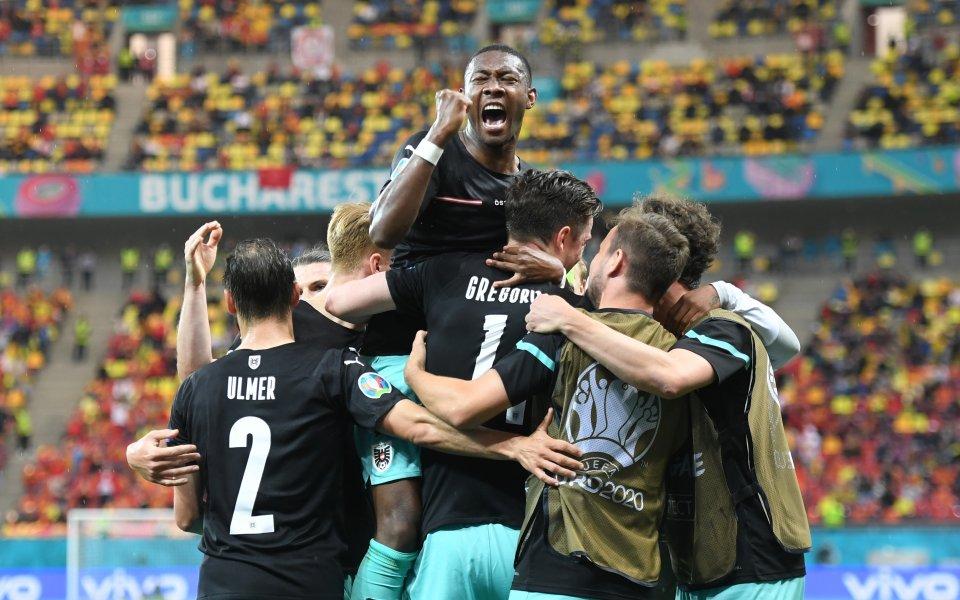 Отборът на Австрия победи с 3:1 състава на Северна Македония
