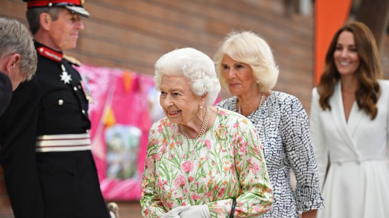Кралското семейство посрещна лидерите на Г-7