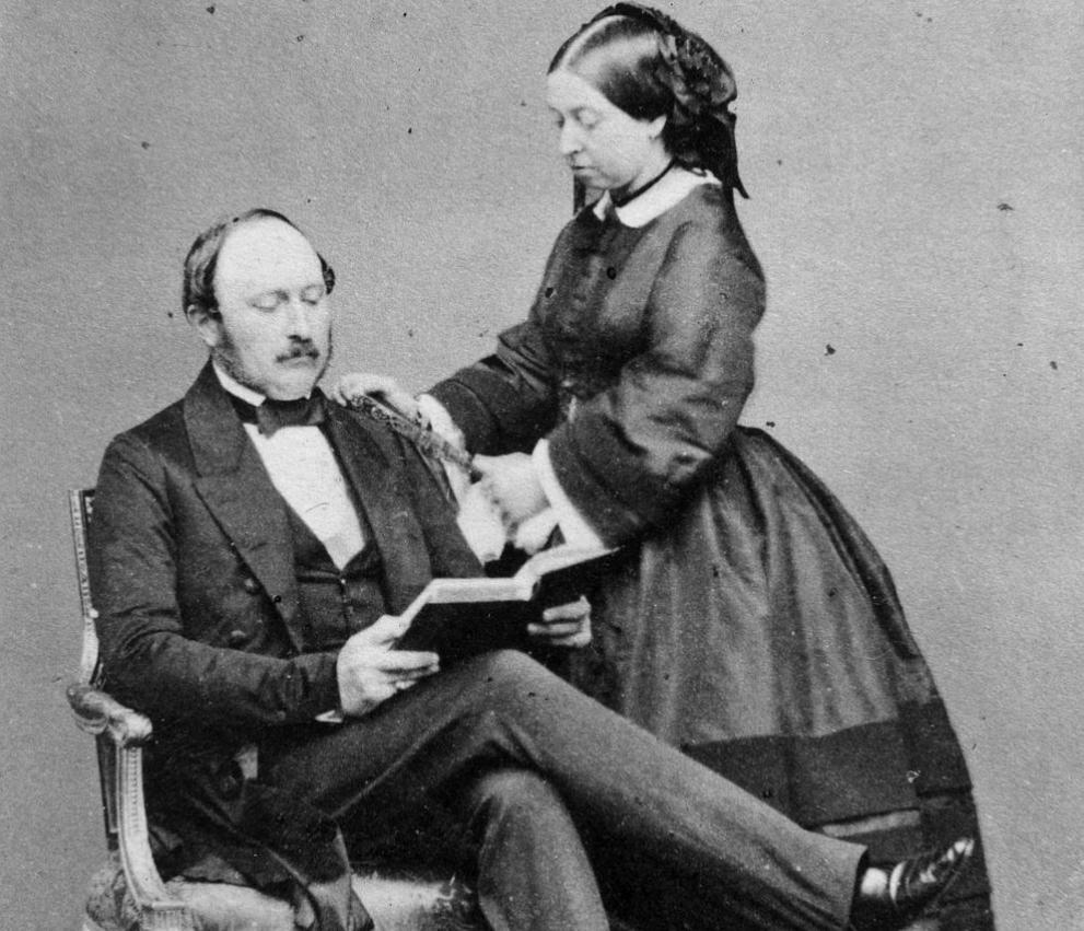 кралица Виктория и принц Албърт