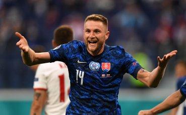 Словакия отново напред в резултата