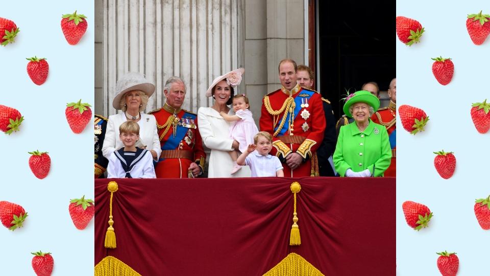 кралско семейство десерт