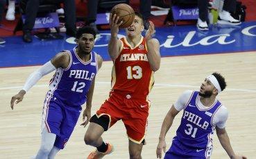 Атланта и ЛА Клипърс се доближиха на победа от финалите в конференциите на НБА
