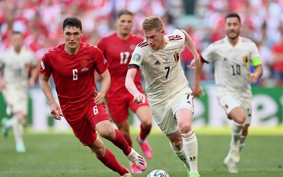 С две убедителни победи отборът на Белгия се класира за