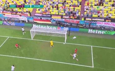 Португалия - Германия 1:2 /първо полувреме/