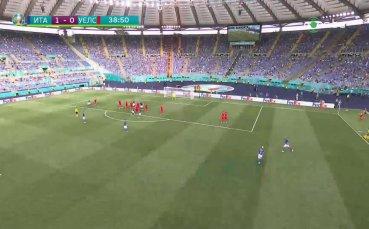 Италия - Уелс 1:0 /първо полувреме/
