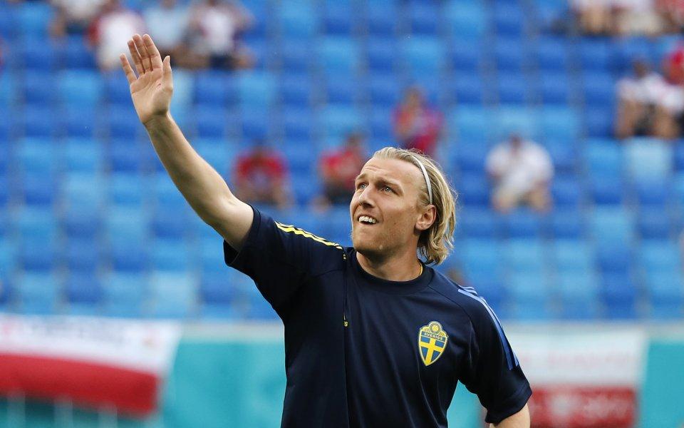 Националните отбори на Швеция и Полша играят при резултат 0:0