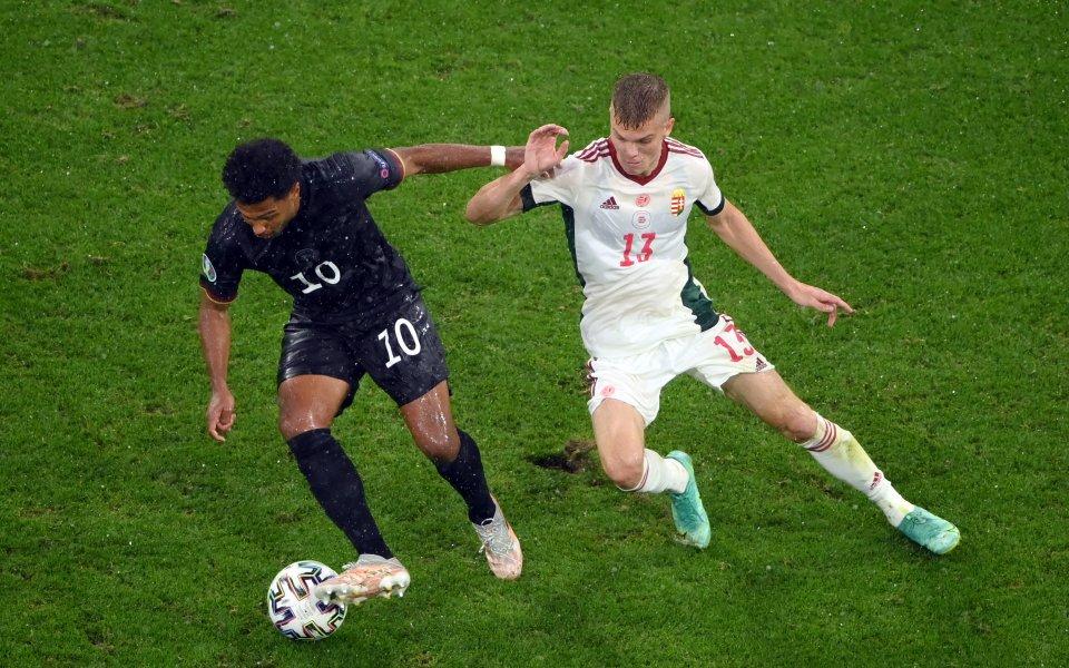 Германия - Унгария 0:1 /първо полувреме/