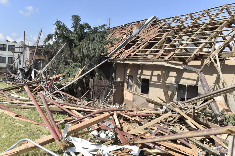 торнадо Чехия