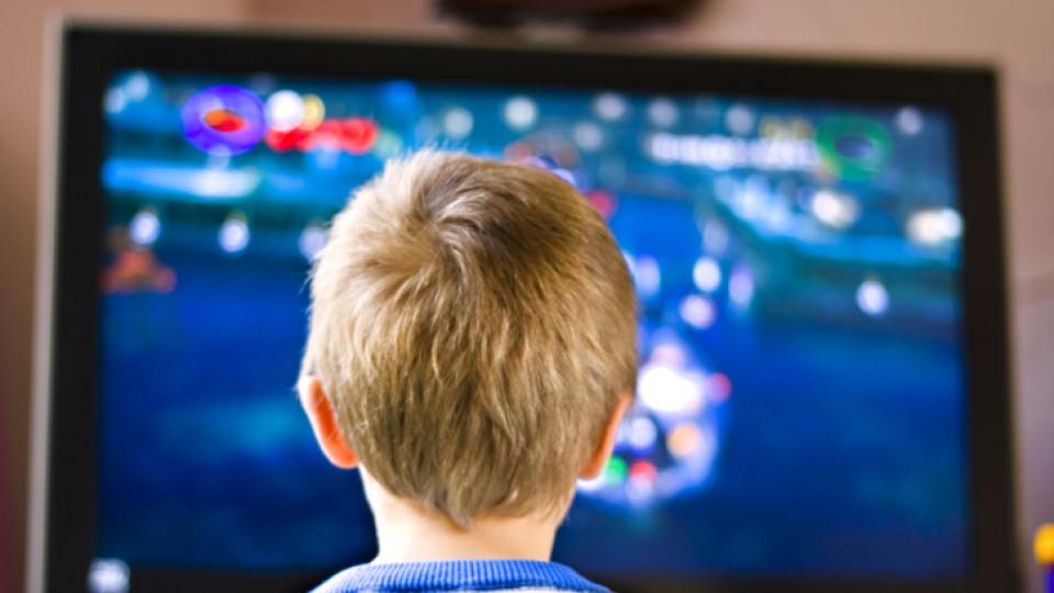 По-малко телевизия за по-спокойни деца