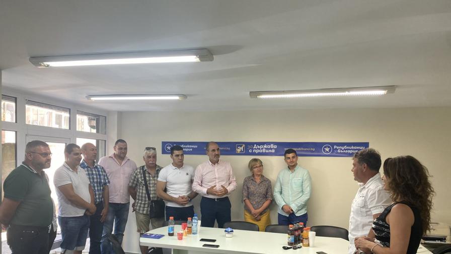 Цветанов проведе работна среща с кандидатите за народни представители на Републиканци за България – Стара Загора