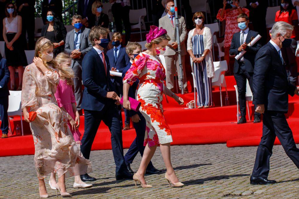 Кралското семейство на Белгия