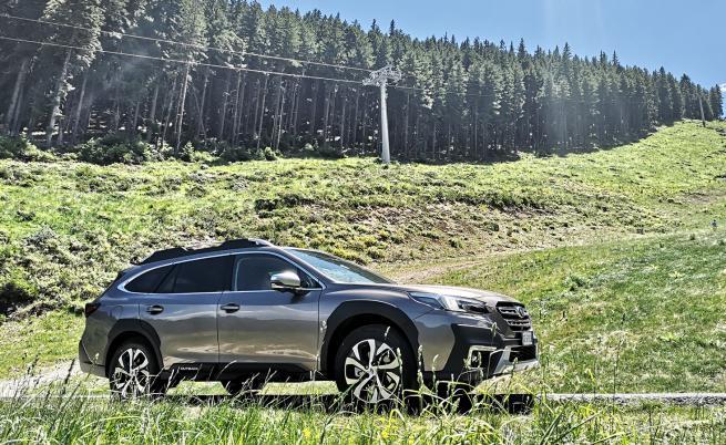 Последният самурай: Subaru Outback (тест драйв)