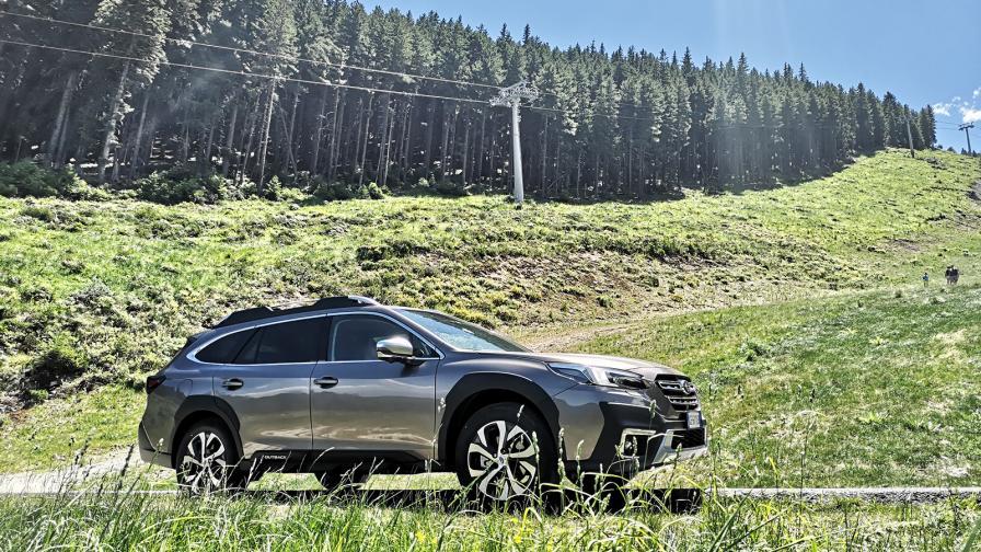 <p>Последният самурай: Subaru Outback (тест драйв)</p>