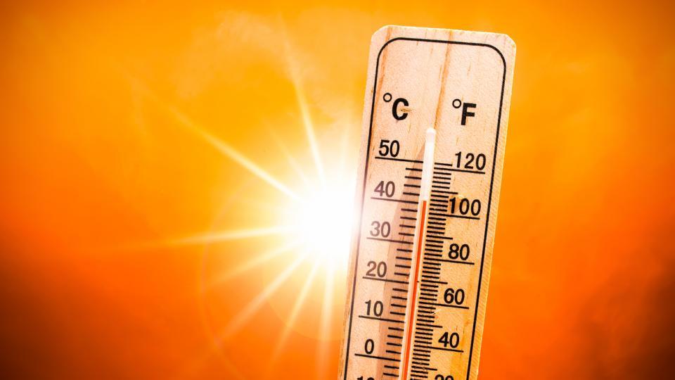 жега лято термометър слънце