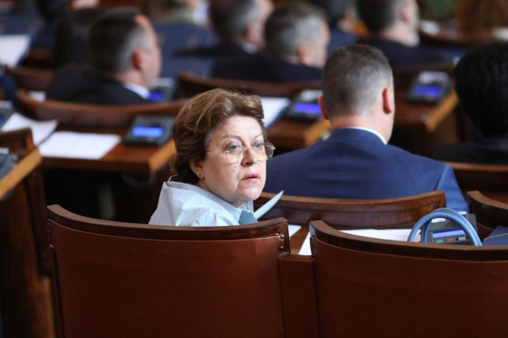 Татяна Дончева парламент