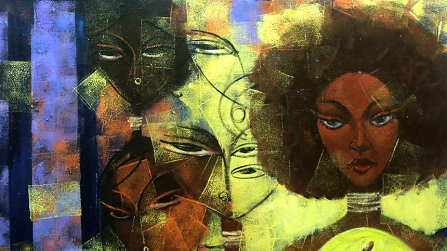 Съвременно африканско изкуство 2 в галерия...