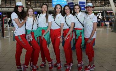 Българските гимнастички проведоха контролно по време на лагера в Мураяма