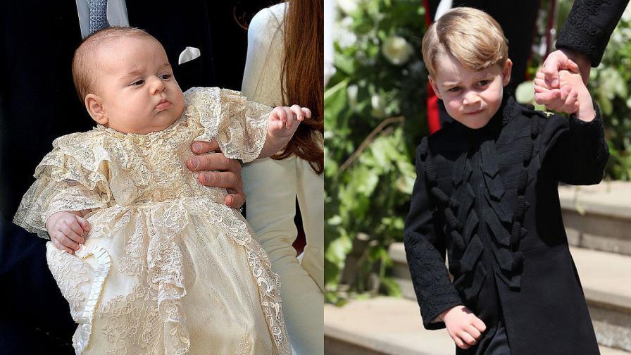 Принц Джордж е роден през 2013 година