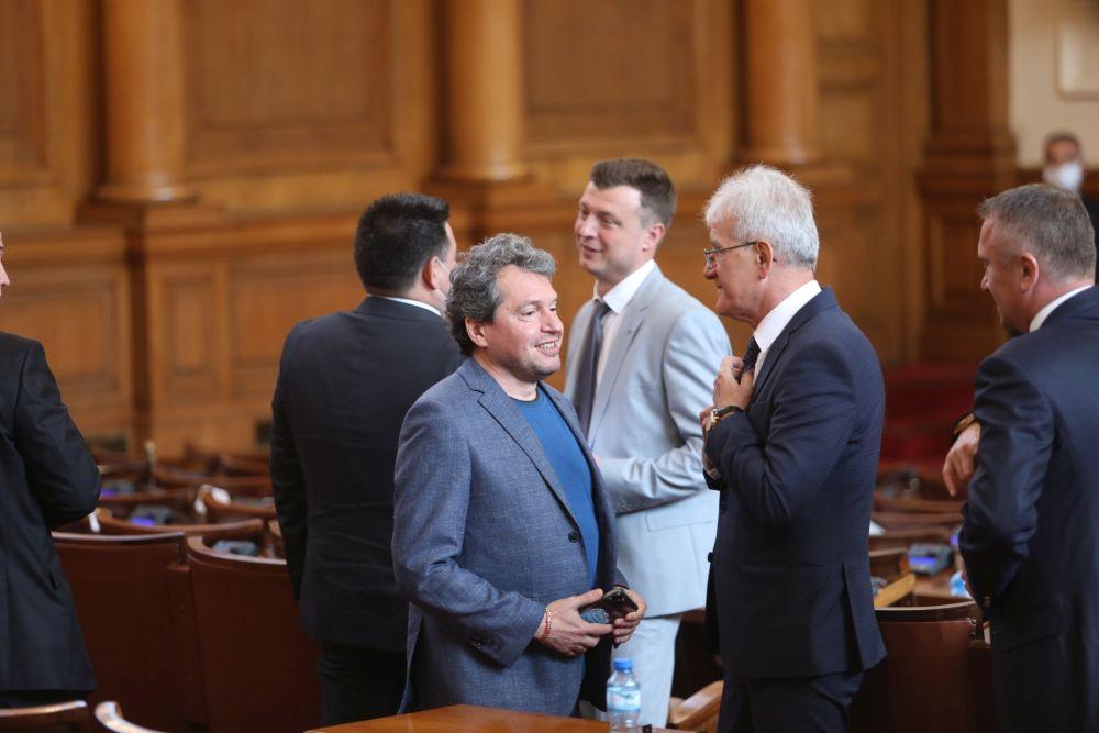 Първи работен ден на депутатите от Народното събрание