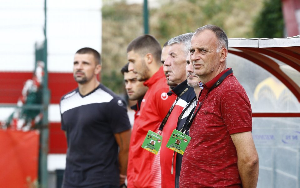 Треньорът на Царско село Антони Здравков коментира нулевото равенство с