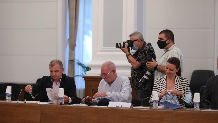 Извънредно заседание на Националния съвет за...