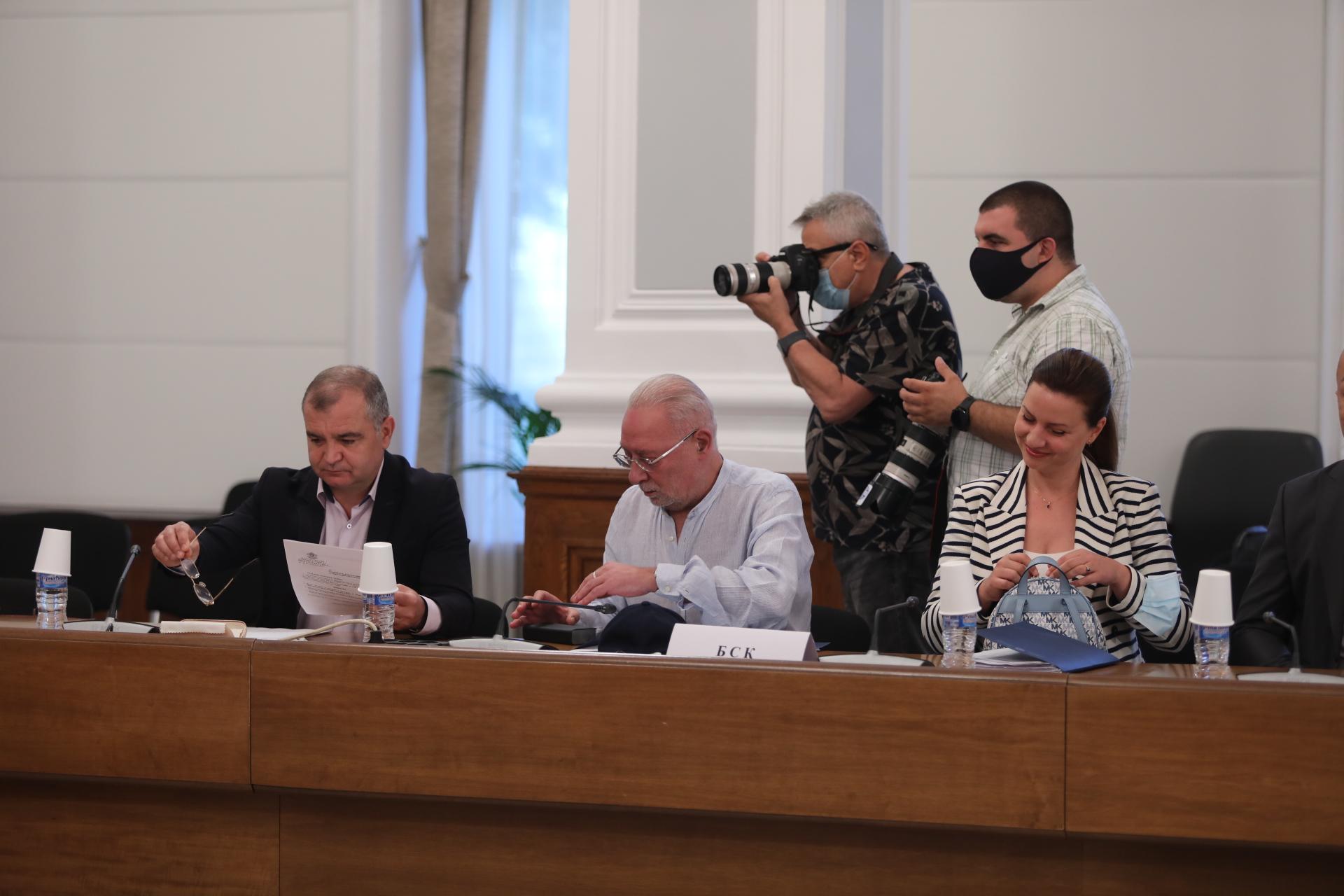 <p>Извънредно заседание на Националния съвет за тристранно сътрудничество</p>