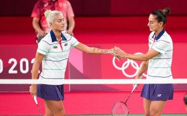 Габи и Стефани Стоеви приключиха участието си в Токио с успех