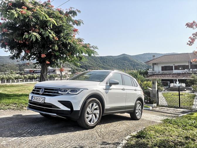 VW Tiguan галерия