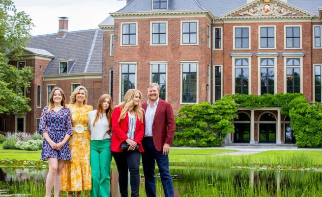 Фотосесия обичайно слага началото на лятната отпуска на нидерландското кралско семейство