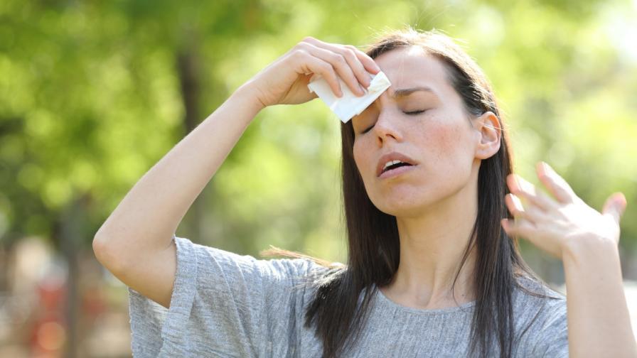 Кои са симптомите на топлинно изтощение