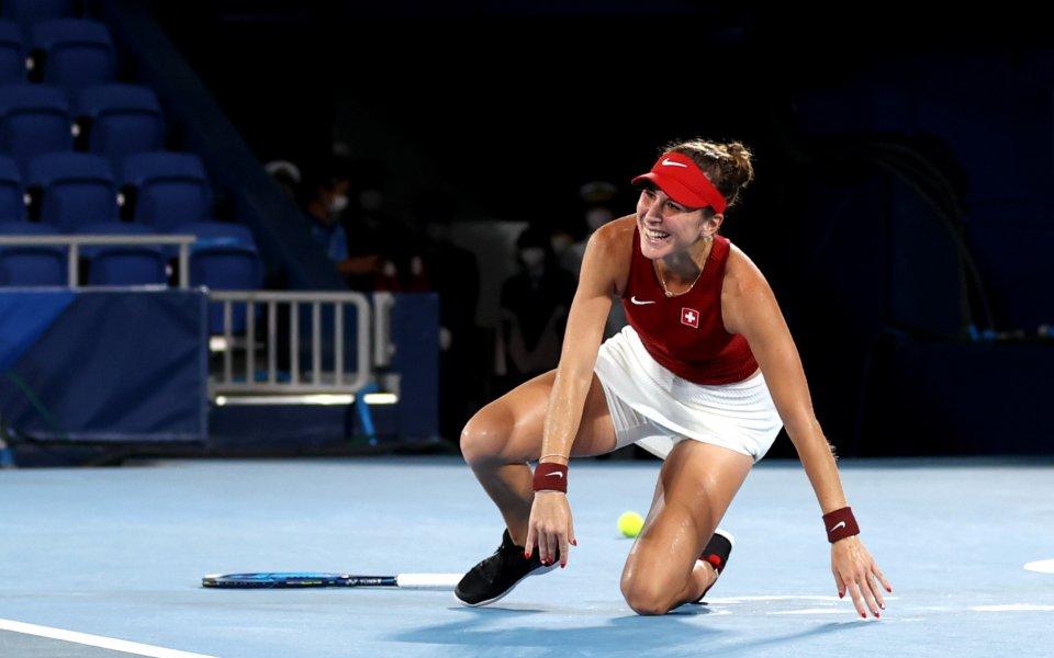 Белинда Бенчич спечели финала при жените на олимпийския турнир по