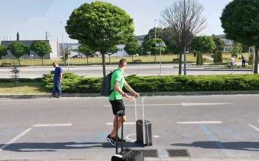 Лудогорец пристигна на Летище Варна преди отпътуването за Гърция