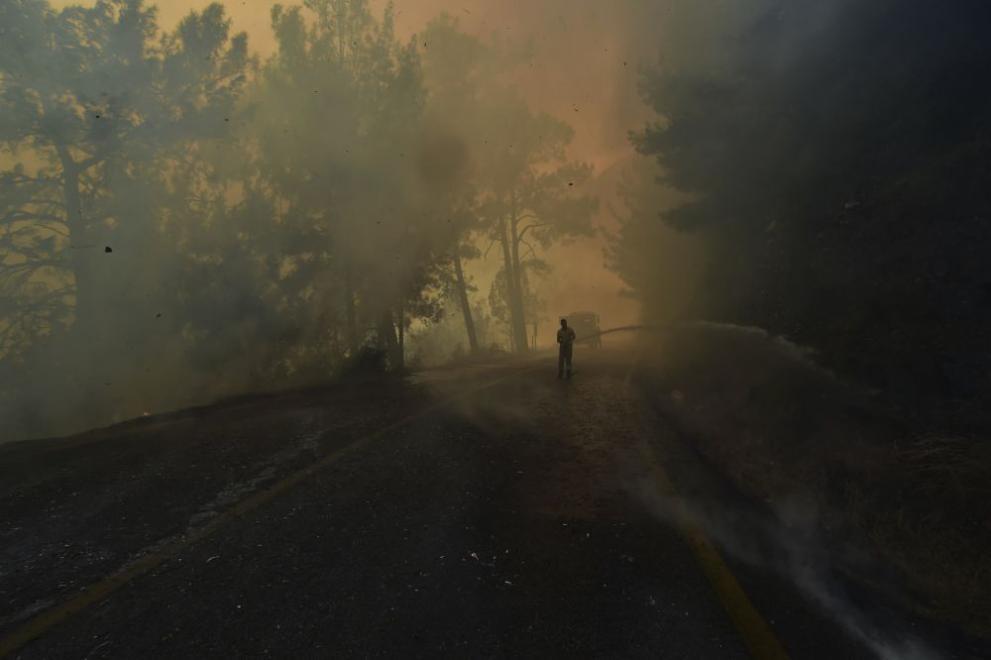 Турция пожари