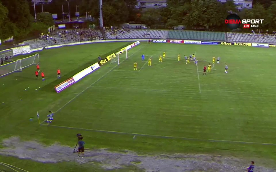 Черно море победи Ботев Пловдив с 2:0 в мач от