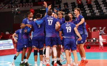 Франция е на полуфинал на Токио 2020 след драма срещу Полша
