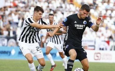 НА ЖИВО: Локомотив Пловдив - Копенхаген 0:0, греда за