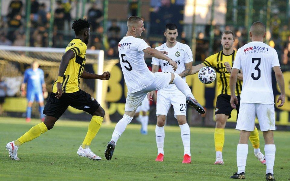 Славия загуби срещу Ботев Пловдив в контрола