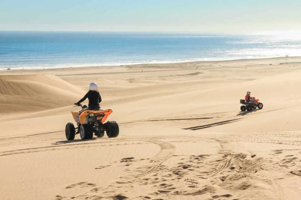Затвор и конфискация на АТВ-та за нарушения в пясъчните дюни