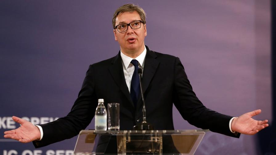 Вучич обеща скоро Сърбия да изпревари България по заплати