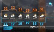 Прогноза за времето (22.08.2021 - централна емисия)
