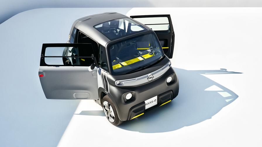 <p>Opel Rocks-e може да се кара с книжка за мотопед</p>