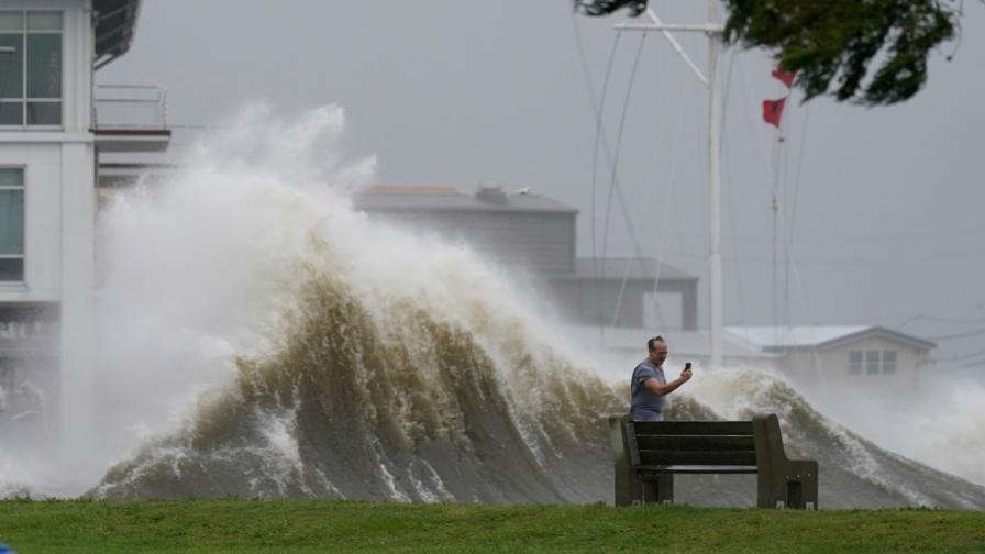Ураганът Айда в Ню Орлиънс