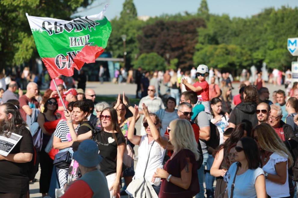 протести антиваксъри