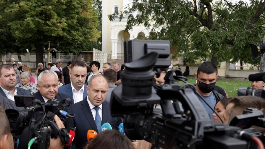 Румен Радев в град Раковски по повод 136 години от Съединението на България