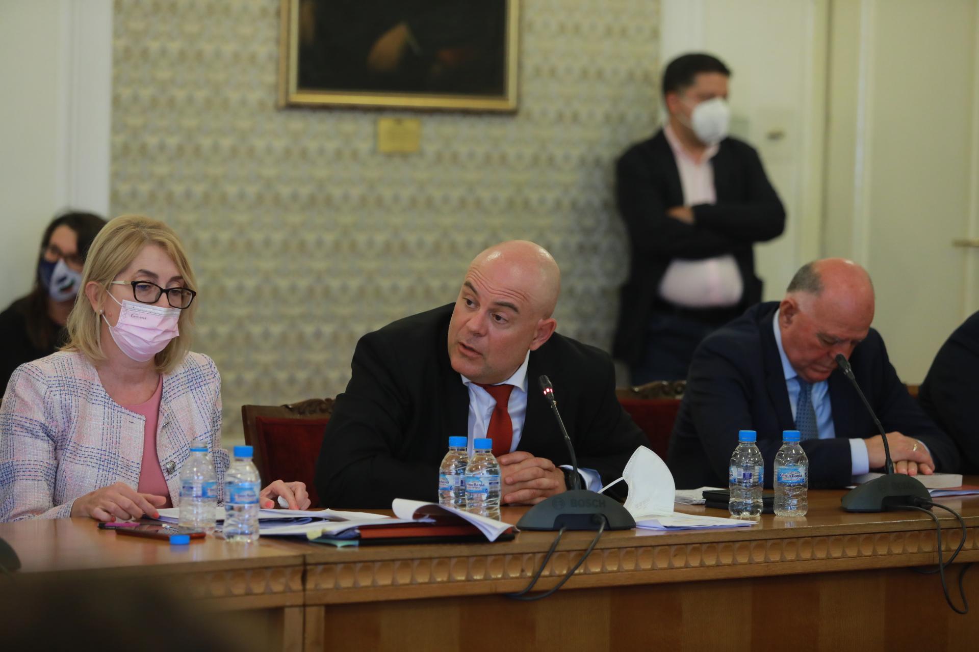 <p>Заседание на Правната комисия</p>