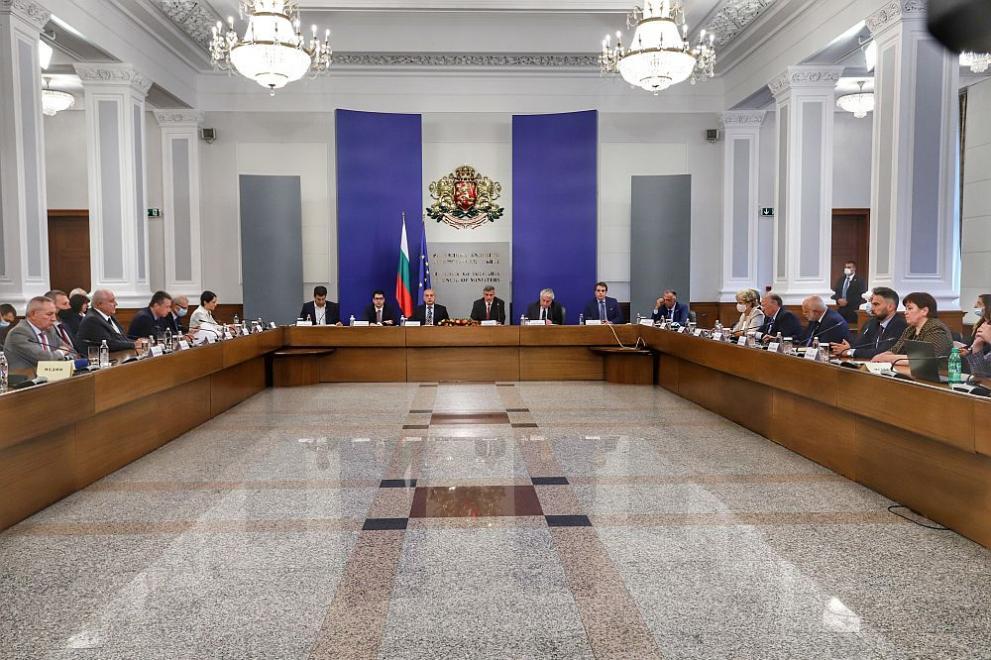 служебно правителство отчет